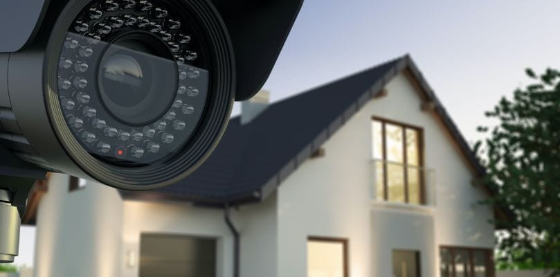 Infrared-CCTV-camera-installed-in-Sidcup-home