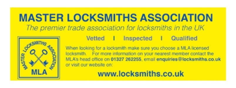 Master Locksmith Association Approved Company Alram CCTV Installer Sidcup